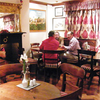 Informal dining in the Bar