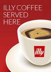 Illy coffee served at The Greyhound Inn