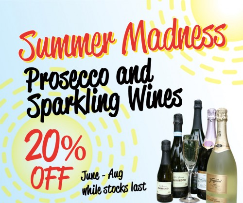 Summer Madness at The Greyhound June to August while stocks last