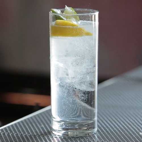 Gin and tonic promotion