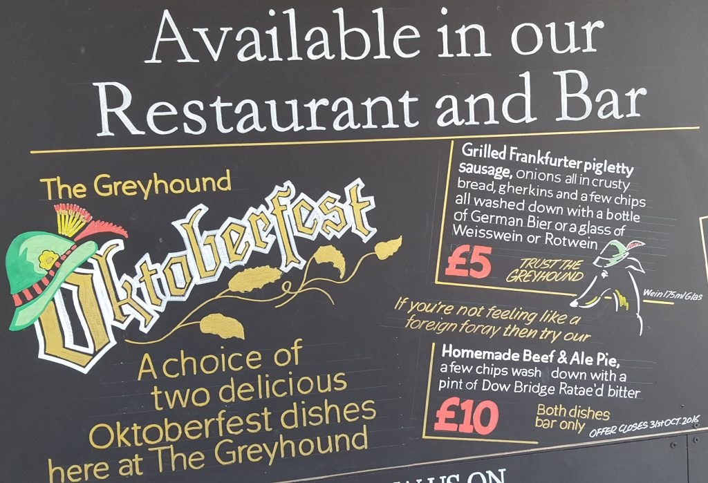 Oktoberfest at the Greyhound