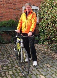 Robert Eggleston - London to Paris Bike Ride 2017