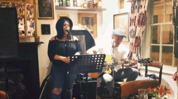 Harriet Carter and Benn Hartman Live Music Night 17th Nov at The Greyhound