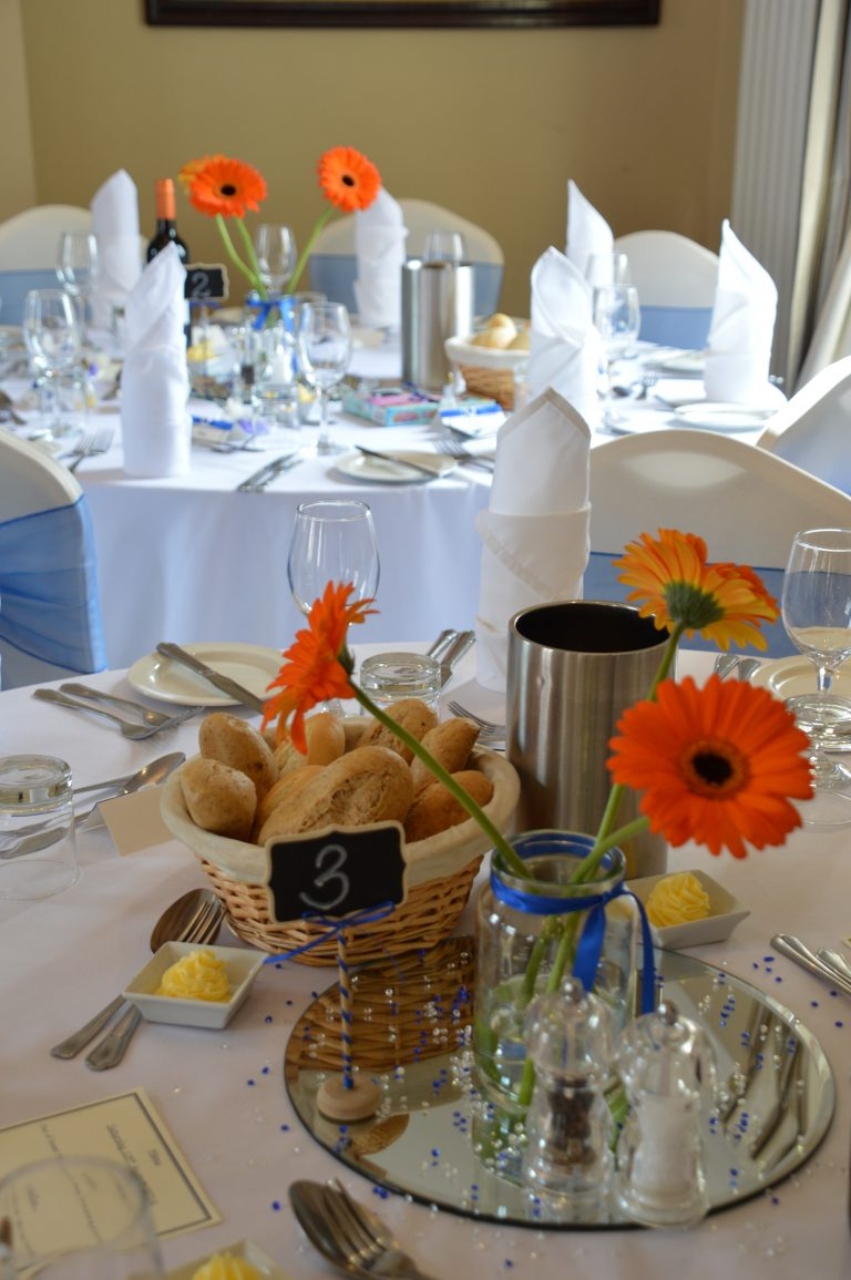 Christina Room wedding breakfast at The Greyhound Coaching Inn Lutterworth