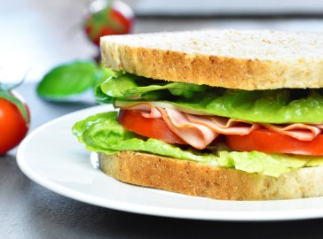 Sandwich Menu, available Monday to Saturday 12-2pm, The Greyhound Coaching Inn, Lutterworth
