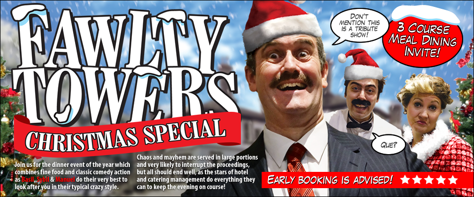 Fawlty Towers Christmas Special Comedy Dining